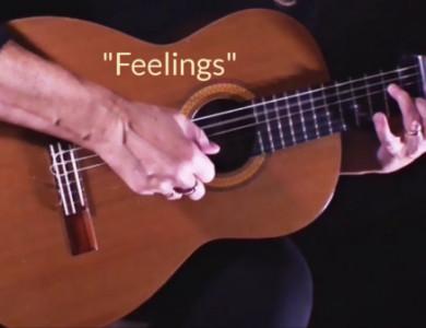 "Arrangement of Albert Morris's ""Feelings"" by Deb Fisher"